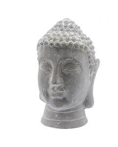 Kerti dekorfigura (Buddha-fej, 20x30cm)