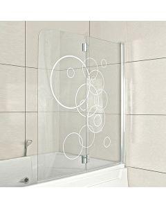 CORNICHE CIRCLES - kádparaván (125x140cm)