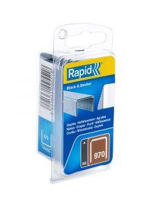 RAPID 970 DP - tűzőkapocs (14mm, 670db)