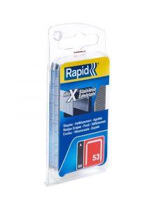 RAPID 53 - tűzőkapocs (6mm, 540db)