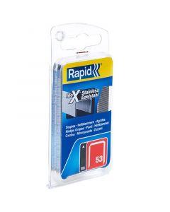 RAPID 53 - tűzőkapocs (12mm, 1080db)