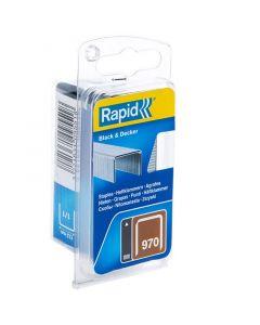 RAPID 970 - tűzőkapocs (12mm, 670db)