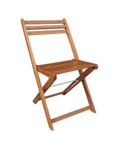 SUNFUN DIANA - kerti szék (natúr, összecsukható)