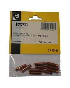 GYS - áramátadó fúvóka (0,6mm, M6-150A)