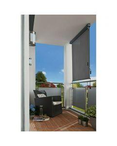 SUNFUN - balkon-belátásvédő (1,4x2,5m, szürke)