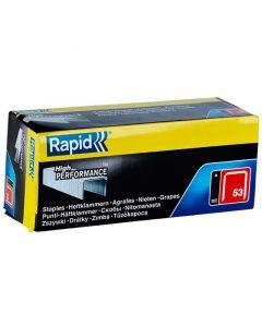 RAPID 53 - tűzőkapocs (10mm, 5000db)