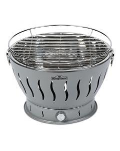 KINGSTONE EASY 32 - faszenes asztali grill (32cmØ, szürke)