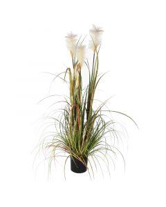MICA DECORATIONS - művirág (foxtail, 120cm)