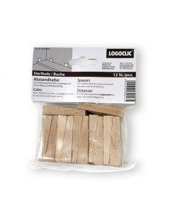 LOGOCLIC - keményfa ékcsomag (12 db)