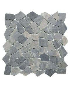 FLIESEN UNI CIOT 30/120 - törtmozaik (szürke, márvány, 30,5x30,5cm)