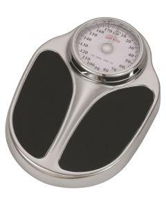 CAREOSAN - fürdőszobamérleg (króm/fekete, max. 160 kg)
