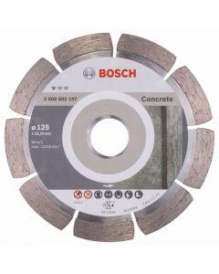 BOSCH PROFESSIONAL STANDARD CONCRETE  - gyémánt vágókorong 125x22,23mm