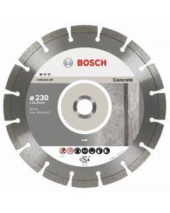 BOSCH PROFESSIONAL STANDARD CONCRETE  - gyémánt vágókorong 230x22,23mm