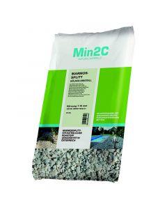 MIN2C - márvány zúzottkő (fehér, 7-16mm, 25kg)