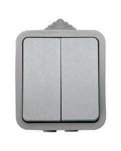 VOLTOMAT BLUELINE - csillárkapcsoló (IP54, szürke)