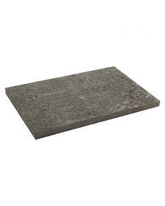 Járdalap 60x40x3cm (bazalt, antracitszürke)