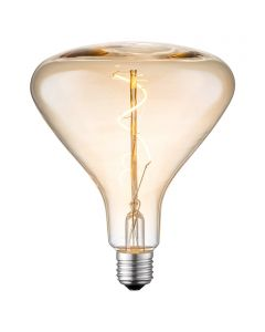LED-fényforrás (E27, 3W, borostyán)