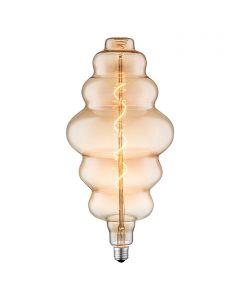 LED-fényforrás (E27, 4W, borostyán)