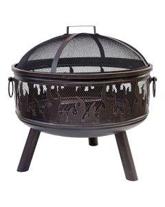 BUSCHBECK WILDFIRE - tűztál (Ø61cm, fekete)