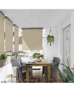 SUNFUN - balkon-belátásvédő (1,4x2,5m, bézs)