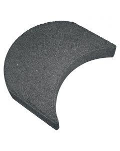 CHRISTOPH - fűnyírószegély (15x24x4,2cm, antracit)