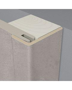 LOGOCLIC WALL EFFECT 3D - takaróléc (szögletes, 22x42x2600mm, Carrara)