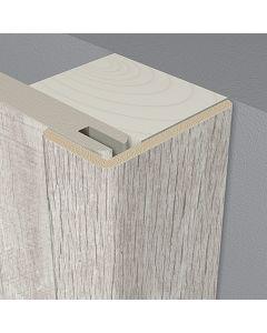 LOGOCLIC WALL EFFECT 3D - takaróléc (szögletes, 22x42x2600mm, Vigo tölgy)