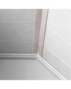 LOGOCLIC WALL EFFECT 3D - takaróléc (flexibilis, 22x22x2600mm, Carrara)