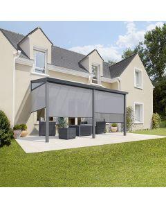 Terasztető és kerti szoba (400x304,5cm)