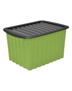 JELENIA PLAST WAVE - műanyag tárolódoboz (5,5L, zöld)