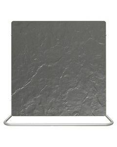 CLIMASTAR COMFORT LINE 3IN1 - hőtárolós fűtőtest (fekete, pala, 1000W)