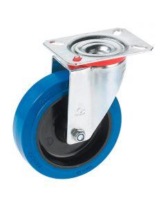 DÖRNER&HELMER - görgő (forgó, 200kg, 125mm, kék)