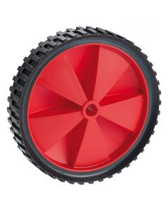 DÖRNER&HELMER - kerék (25kg, 150mm, fekete-piros)