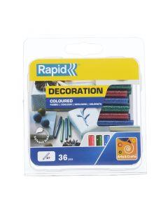 RAPID - ragasztórúd (7mm, 36db, glitteres)
