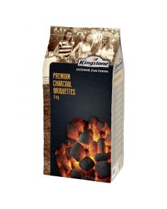 KINGSTONE - grill faszénbrikett (prémium, 5kg)