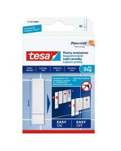 TESA SMART MOUNTING - ragasztócsík (3kg, 6db)