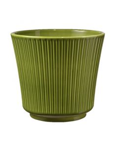SK DELPHI - kaspó (Ø20cm, zöld)