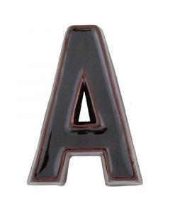 JKH SB - házszám (A, kerámia, barna)