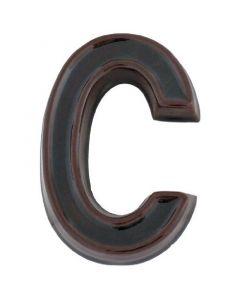JKH SB - házszám (C, kerámia, barna)