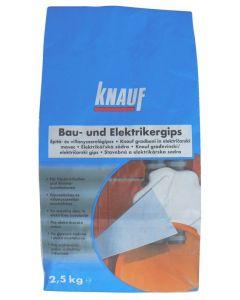 KNAUF - építő- és villanyszerelőgipsz (2,5kg)