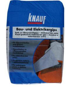 KNAUF - építő- és villanyszerelőgipsz (5kg)