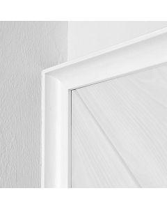 LOGOCLIC - üreges szegőléc (fehér, 2600x22x22mm)