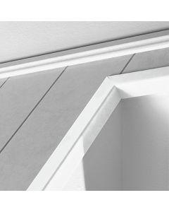 LOGOCLIC - pipaléc (fehér, 2600x28x28mm)