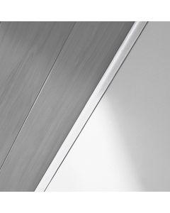 LOGOCLIC - takaróléc (fehér, 2600x6x25mm)