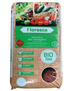 FLORASCA BIO VEGASCA - zöldség- és palántaföld (40L)
