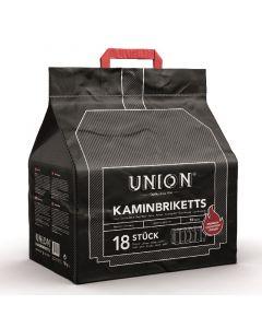 UNION - barnaszénbrikett hordtáskában 10kg