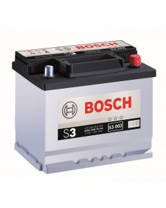 BOSCH SILVER S3 - akkumulátor bal+ 12V 56Ah