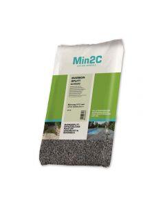 MIN2C - márvány zúzottkő (fekete, 9-12mm, 25kg)