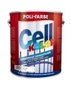 POLI-FARBE CELLKOLOR - zománcfesték - fehér 1L