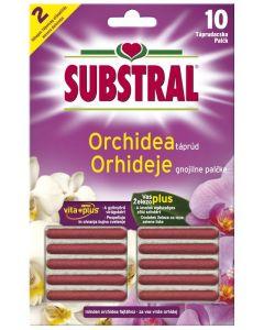 SUBSTRAL - orchideatáp (rúd, 10db)